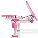 Зростаюча парта для дівчинки FunDesk Lavoro L Pink, фото 7