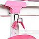 Зростаюча парта для дівчинки FunDesk Lavoro L Pink, фото 9