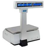 Весы с печатью этикетки CAS CL5000J-IP/R б/у, фото 2