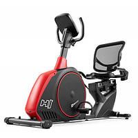 Горизонтальний велотренажер Hop-Sport HS-095L Scale Black+ мат
