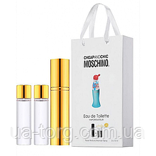 Парфюмерная вода для женщин Moschino Cheap and Chic I Love Love, 3x15 мл