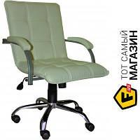 Офисное кресло со спинкой искусственная кожа Примтекс плюс Stella alum GTP S-82 бежевый
