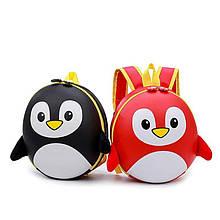 Детский каркасный рюкзак-портфель 3D Пингвин