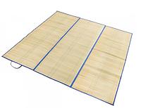 Пляжный коврик из соломки и фольги Большой