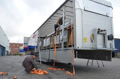 Закрепление груза в грузовом транспорте