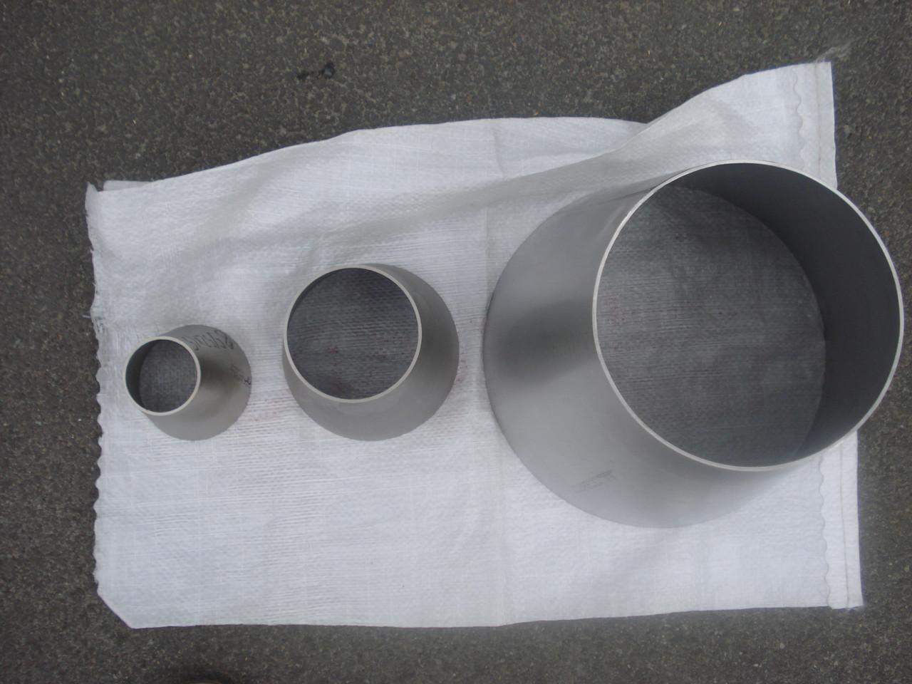 Переход нержавеющая сталь А 304 76,1х2/26,9х2