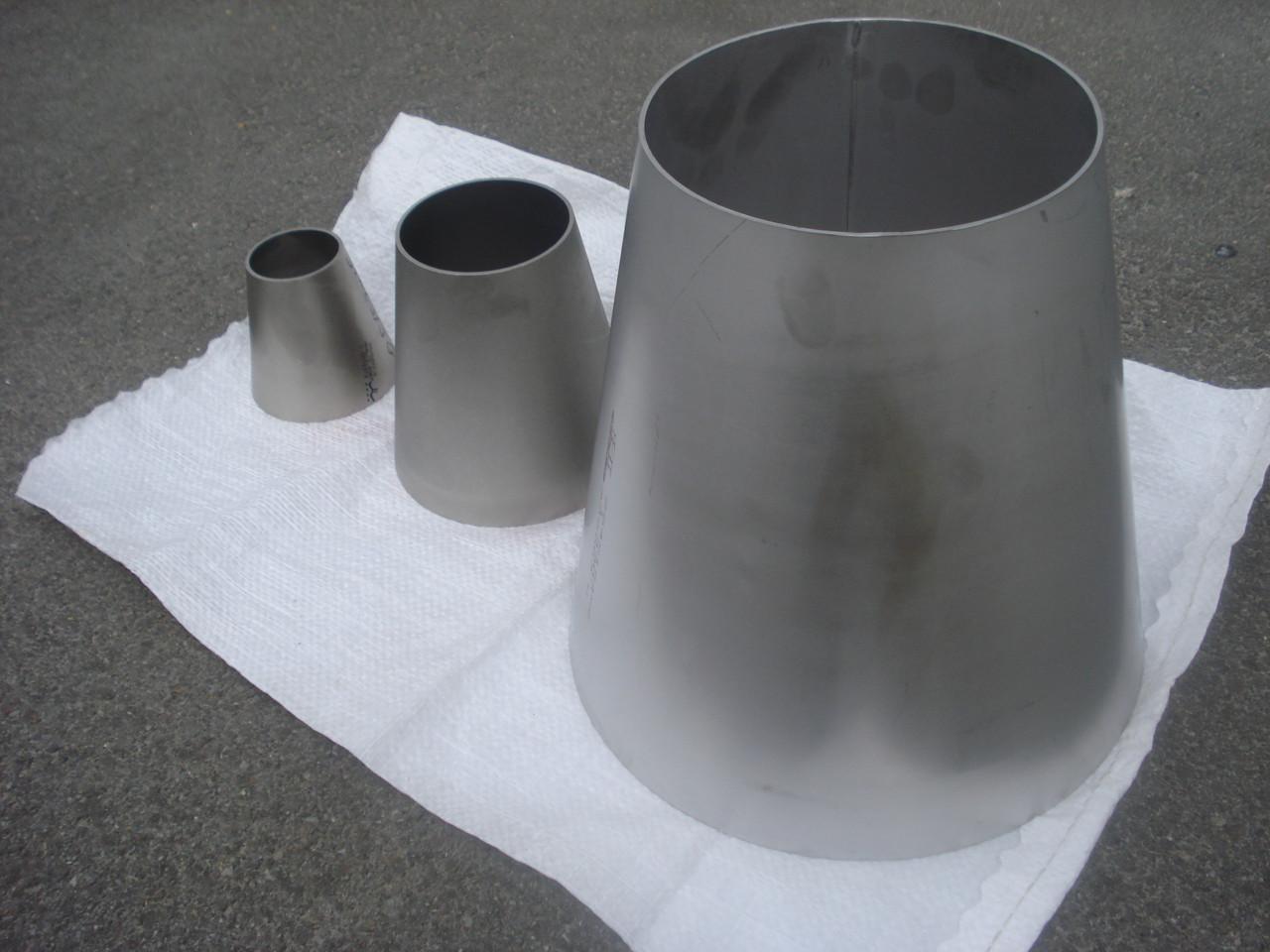 Переход нержавеющая сталь A 304 219,1х2/88,9x2