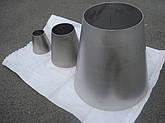 Переход из нержавеющей стали А 304L 139,7х2/60,3х2, фото 2