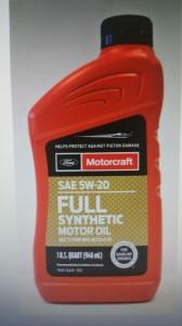 Масло 5W30 1кварта (946мл) Full Synthetic MOTORCRAFT XO5W30Q1FS