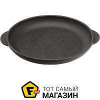 Круглая сковорода традиционная «Наша Майстерня» (Т101 18см) — подходит для газовых плит, для галогеновых плит, для духовок, для индукционных плит, для