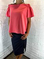 Блуза жіноча коралова ATMOS ОПТ