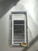 7-15 mm D 0.07 mix Ресницы Nagaraku черные