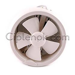 Осевой оконный (форточный) вентилятор с клапаном 384 м³/ч