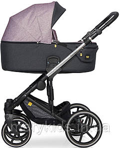 Детская универсальная коляска 3 в 1 Riko Exeo 02 Purple