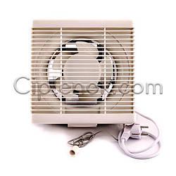 Осевой реверсивный оконный (форточный) вентилятор 270 м³/ч