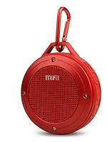 Колонка водонепроницаемая блютуз беспроводная, портативная, красная Mifa F10 red 3 Вт IP56 Bluetooth 4.0