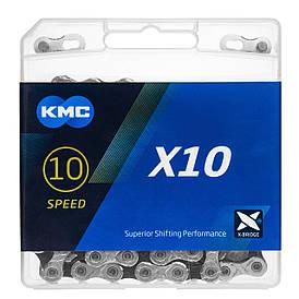 Ланцюг велосипедний KMC X10 з замком