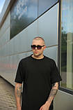 Комплект мужской черный футболка шорты, фото 5