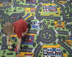Детский развивающий коврик игровой