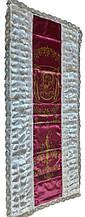 Ритуальне покривало свічка з іконою Богородиці