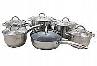 Набор посуды кухонной, набор кастрюль из нержавеющей стали Edenberg EB-4001, сотейник