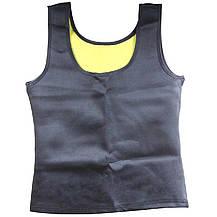 Майка сауна для похудения Hot Shapers Унисекс высокий вырез (р-р L), фото 2