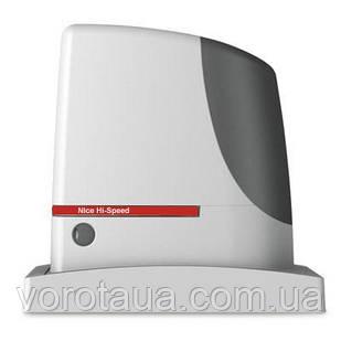 Высокоскоростной электромеханический привод RUN400HS для откатных ворот массой до 400 кг. и до 14м