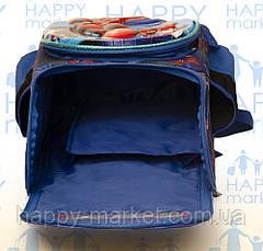 Ранец Рюкзак каркасный школьный ортопедический раскладной Человек паук  202-2, фото 2