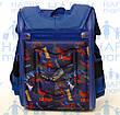 Ранец Рюкзак каркасный школьный ортопедический раскладной Человек паук  202-2, фото 3