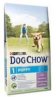 Корм для щенков с ягнёнком Purina Dog Chow Junior Lamb