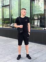 Комплект Футболка + шорты + барсетка. Спортивный костюм мужской