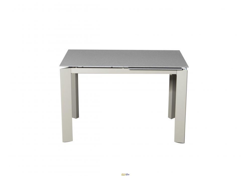 Раздвижной стол Marlow Марлоу 120/170 светло- серый камень