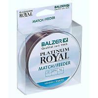 Леска Balzer Platinum Royal Match/Feeder 0.22мм 200м 4.60кг тонущая (12097 022)
