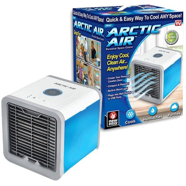 Мобильный мини кондиционер Arctic Air охладитель увлажнитель воздуха переносной компактный портативный от USB