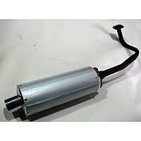 Глушитель   4T Китаец 150см3   (+колено, прокладки).