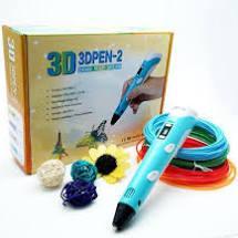 3D ручка для творчества. 3D Pen 2 c LCD дисплеем.