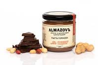 Ореховая паста с арахисом и молочным шоколадом 0% сахара, TM ALMAZOVЪ, 200 гр