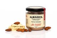 Паста с миндалем и белым шоколадом 0% сахара, TM ALMAZOVЪ, 200 гр