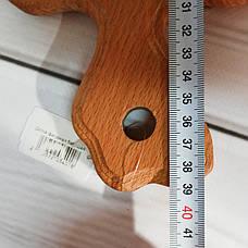 Доска деревянная фигурная 39*25см в масле, фото 3