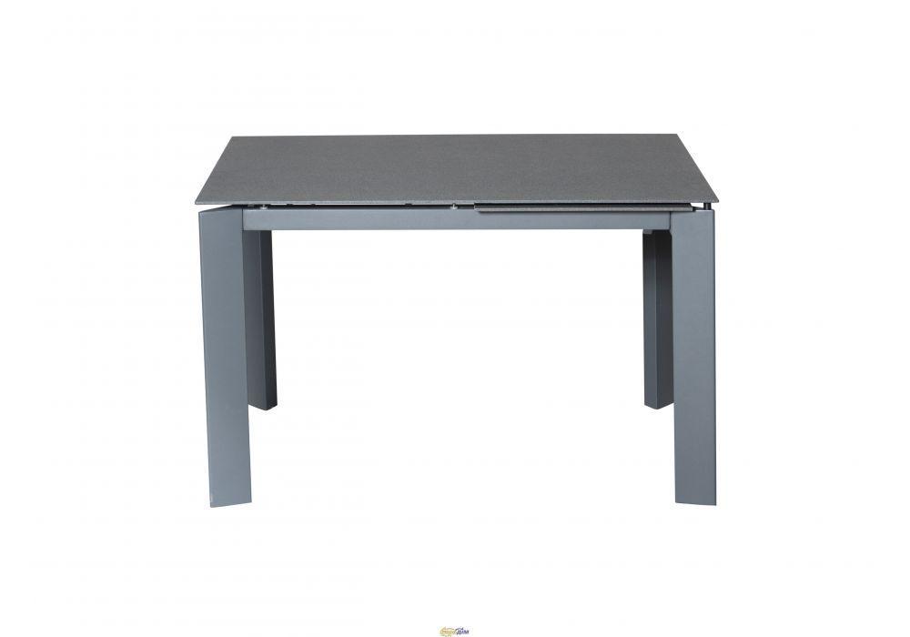 Раздвижной стол Marlow Марлоу 120/170 темно- серый камень