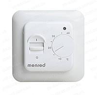 Простой Механический терморегулятор для теплого пола Menred RTC70.26 / с датчиком пола 10 кОм