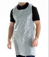 Фартук полиэтиленовый  MED COMFORT Ampri (100шт в упаковке) Белый 0.75x1.25 м