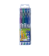 Набор гелевых ручек ZiBi KIDS Line Glitter 4 цвета