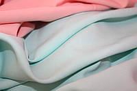 Светлый ментол. Ткань креп костюмка барби однотонная №309