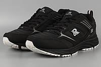 Кросівки чоловічі унісекс чорні Royyna 004D Ройна Бона Bona Розміри 41 42 43 46, фото 1