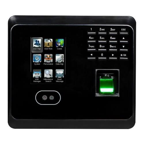 Мультибиометрический терминал УРВ и контроля доступа по геометрии лица, отпечатку пальца ZKTeco MB360/EM