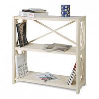 Стеллаж для книг деревянный 3 полки RAN3