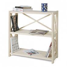 Стелаж для книг дерев'яний 3 полиці RAN3