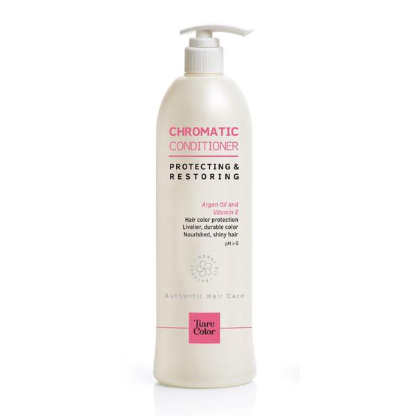 Крем-кондиціонер для фарбованого і мелірованого волосся Tiare Color Chromatic 1000 мл