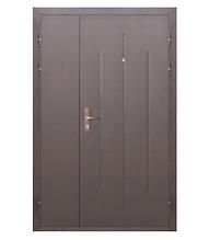 Входная дверь GARDA Стройгост 7-1 Металл/Металл Медный Антик (1200х2050)